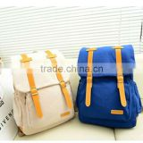 fashionale China supplier cheap canvas men briefcase backpack with speakers teens backpack 2014