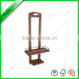 wall mounted shower shelf bamboo shower shelf for organizer