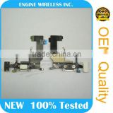 Dock Connector Port Charge Charging Flex With White Headphone Jack Flex Cable for iPhone 5