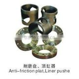 Mud pump fitting Anti-friction plat/Liner pushe bomco