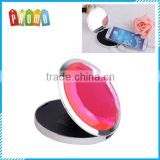 Wholesale round fashion cosmetic mirror power bank, portable power bank