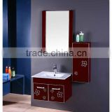 high technical production pvc / steel / wood / wall cabinet for bathroom for wholesale only