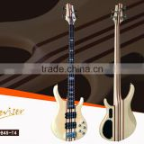 Manufacturing characteristic spruce & sapele solid connection 4 strings electric bass