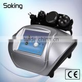 home use ultrasonic wave weight loss cavitation multipolar rf face tightening beauty equipment