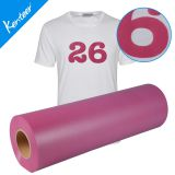 Kenteer various color flock heat transfer vinyl for clothing