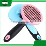 pet accessories tool hanging plastic stainless steel cat dog pet bath massage hair removal grooming slicker brush comb