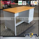 Factory price cheap steel office furniture metal desk thailand/ metal desk with 3 drawers