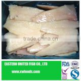 frozen dried boneless hake fish fillet