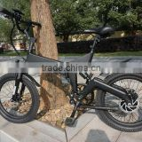 20 inch electric folding bike mountain electric bike electric fat tire bike