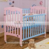 2016 solid wood baby crib baby cot custom made