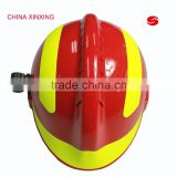 CHINA XINXING fire fighting rescue safety helmet with flashing light