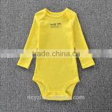 Baby Ruffle Romper Pima Cotton Baby Clothes Winter China Factory