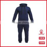 Competitive Price Men Sport Gym Jogging Suits Wholesale 65Cotton 35Polyester Custom Mens Plain Tracksuits
