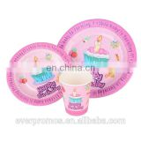 Event and Party Supplies Paper Cup/Custom Printed Disposable Dinner Paper Plates/Eco-friendly Paper Straw
