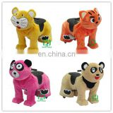 HI Electric ride on animal for kids in shop,stuffed animal ride electric for mall with coin operate