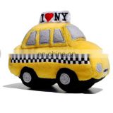 Lovely High quality plush taxi toys