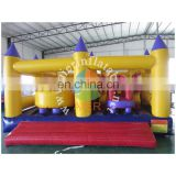 smalll yellow obstacle course/CE approval obstacle course for kids
