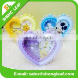 Wholesale big hearts the alarm clock Creative alarm clock Plastic cartoon alarm clock