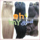 2014 Factory silky straight remy hair extension 100% real human hair