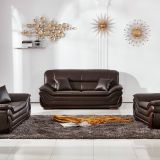 black color leather sofa set