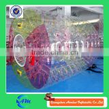 real material floating inflatable water bubble roller large inflatable water bubble balls