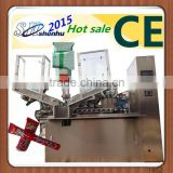 Collapsible aluminum tube filling sealing machine/medicine aluminum tube filling machine