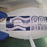 white helium inflatable airship inflatable advertising balloons inflatable strong style color bouncer strong