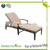Wholesales patio furniture rattan wicker folding sun lounger for sales