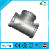Welding Connection and PE 80; PE 100, 304stainless steel Material hdpe tee pipe fittings