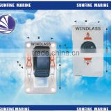 New!!!MARINE UP & DOWN ROCKER CONTROL SWITCH PANEL FOR ANCHOR WINDLASS/ anchor windlass switch/waterproof