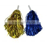 High Quality Red Pom Pom Cheerleaders Hand Flower tinsel garland