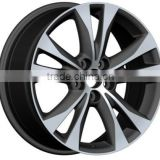 via jwl alloy wheels 5x114.3 wheels for 2015 TOYOTA RAV4 wheel rim