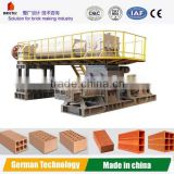 Clay brick making machine , New Technology Vacuum extruder for semi-hard material extruding