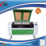 2014new Co2 laser cutting machine for leather KL-1290looking for agent in the Asia with CE