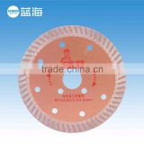 114mm-2.4mm Thickness Corrugated Dry Cutting Sintered Diamond Circular Saw Blade Stone Cutter