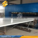 UV Protection Plastic Sheet uhmwpe pp sheet boards uhmw pe plastics of sheet for China factory sale