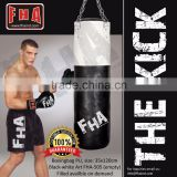 Punching bag Boxing Bag Boxsack Leather Artificial leather PU Boxing Equipment Fight Gear by FHA INDUSTRIES PAKISTAN