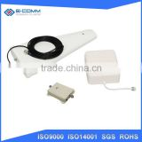 High gain 11dbi lte flat panel satellite antenna