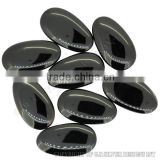black onyx gemstone, natural slice cabochon stones,wholesale fine silver jewelry gemstone suppliers