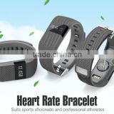 Wireless Bluetooth 4.0 Activity Wristband Heart Rate Monitor Smart Bracelet Watch for IOS & Android