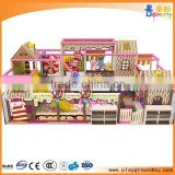 Popular manufacture in China market hot sale bigger children soft playground indoor play centre