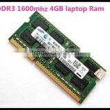 Laptop Sodimm ram 4 gb ddr3 with 5 years warranty