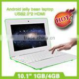China WM8880 10 inch low price android dual core mini computer laptop