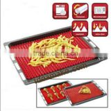 silicone cooking mat as seen on tv 100% food grade LFGB standard eco-friendly square heat resistant