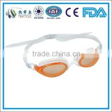 Factory best silicone swimming goggles , competition swimming goggles