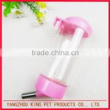 OEM convenient use dog cat feeding water bottle automatic pet drinker