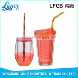 New product disposable OEM welcome logo printed plastic straw cup