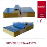 china supplier Construction material EPS aluminum honeycomb core rockwool sandwich panel