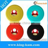 2015 Newest Pet Toys Silicone Dog'S Flying Frisbee silicone frisbee with logo