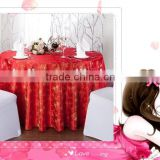 100% spun polyester restaurant table linens/Table Skirt, Table Cloth, Table Cover/Five star hotel napkins